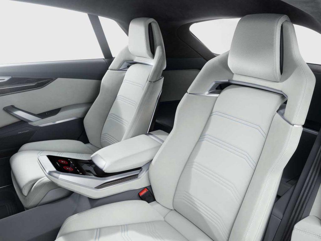 Hoher Komfort auch auf den Rücksitzen...