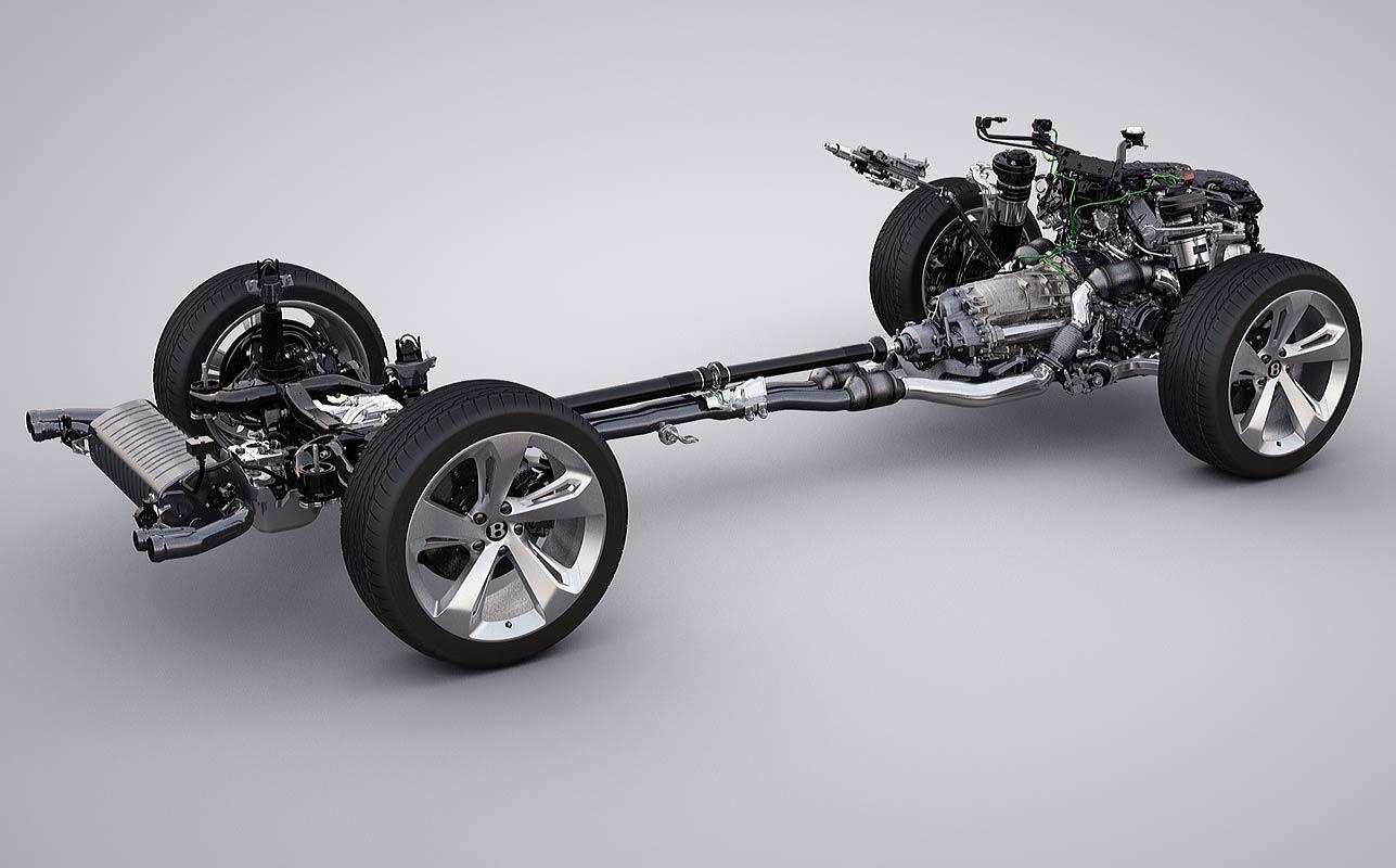 Getriebe Bentley Bentayga