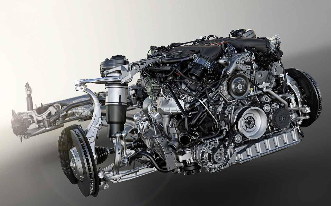 Motor Bentley Bentayga