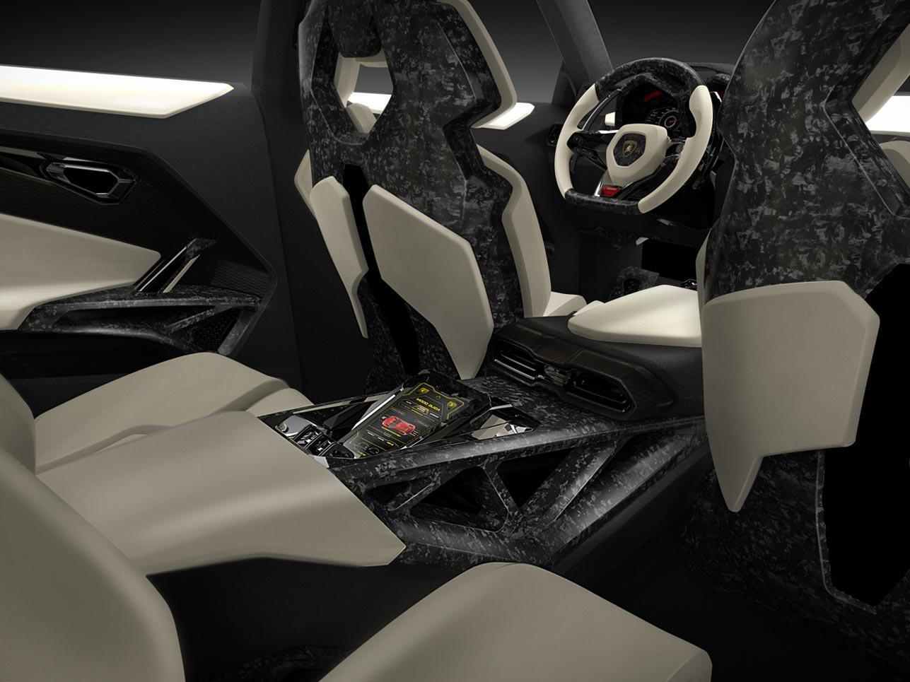 Innenraum des Lamborghini Urus