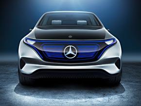 Frontansicht: Der Mercedes Generation EQ