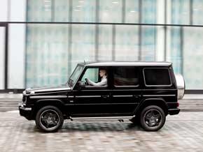 Mercedes G seitlich