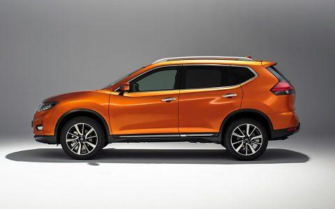 Seitenansicht: Der neue Nissan X-Trail