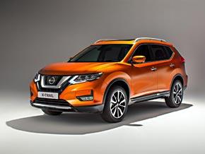 Schrägansicht: Der neue Nissan X-Trail