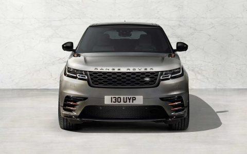 Frontansicht: Der Range Rover Velar