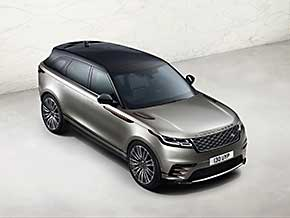 Schrägtansicht: Der Range Rover Velar