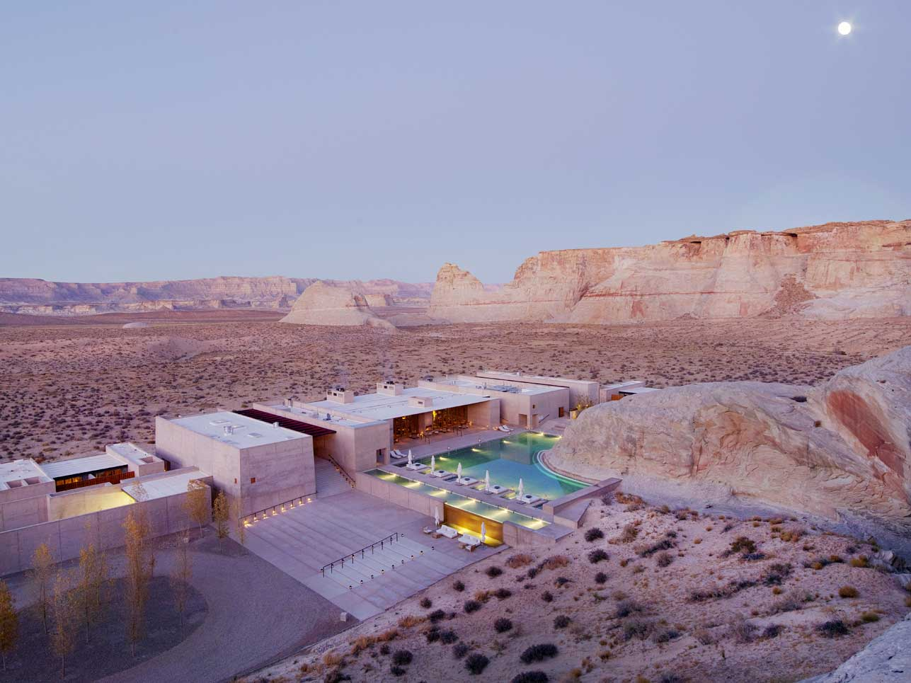 Hotel Amangiri Resort – Aerial View