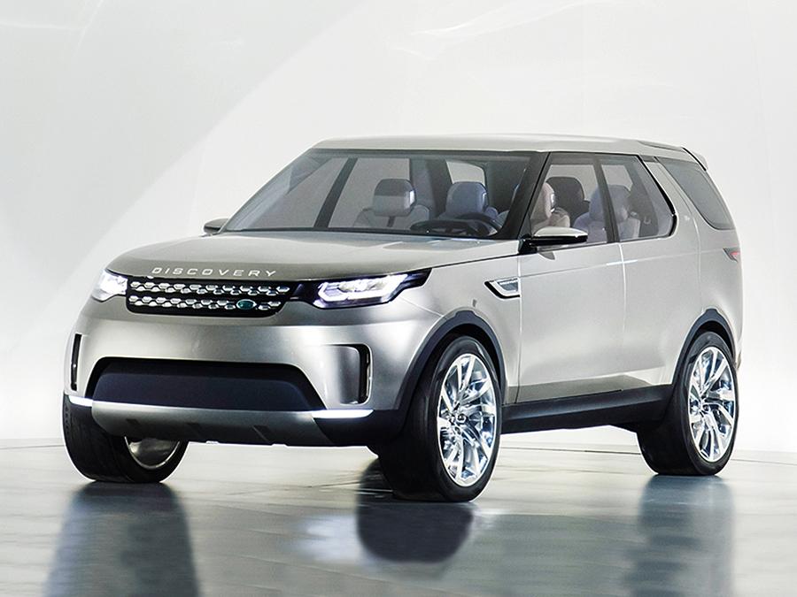 """Nicht nur ein Design-Vorbild für die Zukunft: die Land Rover-Studie """"Discovery Vision Concept""""."""