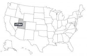 """UTAH — The Beehive State: Der Beiname """"Bienenkorb"""", """"Bienenstaat"""" erklärt sich daraus, dass die gründenden Mormonen den Bienenkorb als Symbol des Fleißes zum Symbol des Staates bzw. Territoriums machten."""