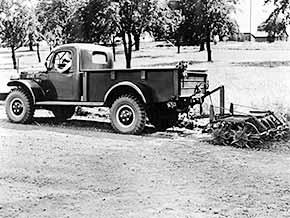 Der Dodge Power Wagon beruht, wie manch anderer SUV auch, auf einer Militär-Entwicklung.