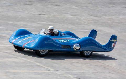 1956 in Bonneville, USA: Der Etolie Filante schafft 308,85 km/h.
