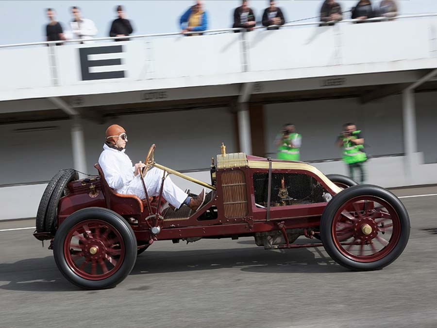 1906: Typ AK, Sieg beim Grand Prix von Frankreich.