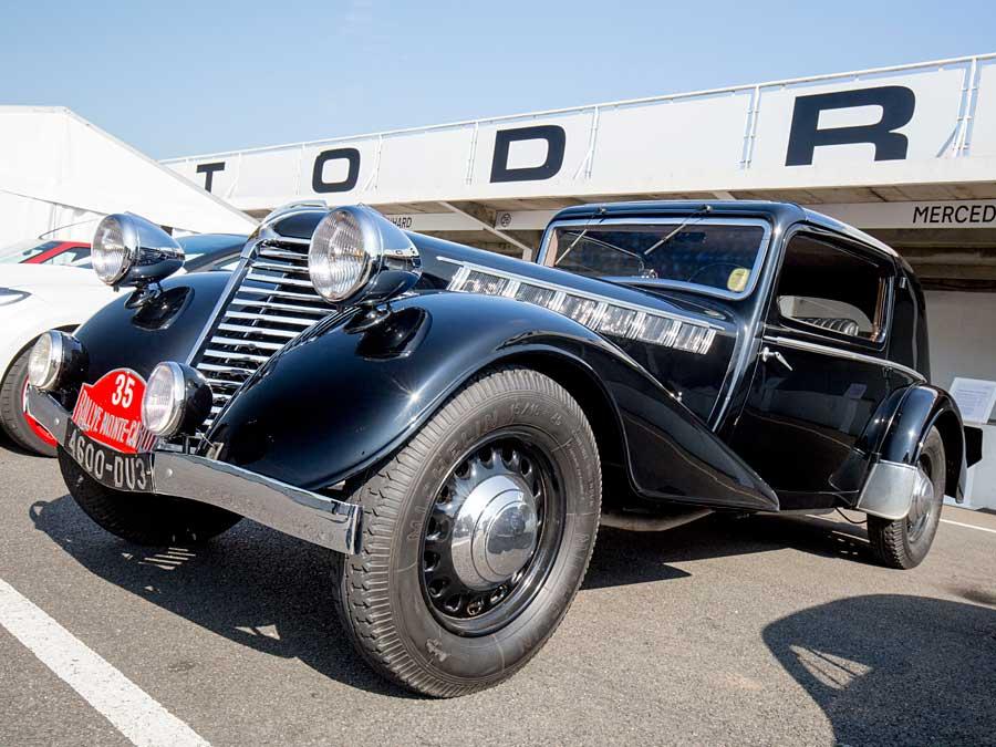 Dieser Nervasport gewann 1935 die Rallye Monte Carlo.