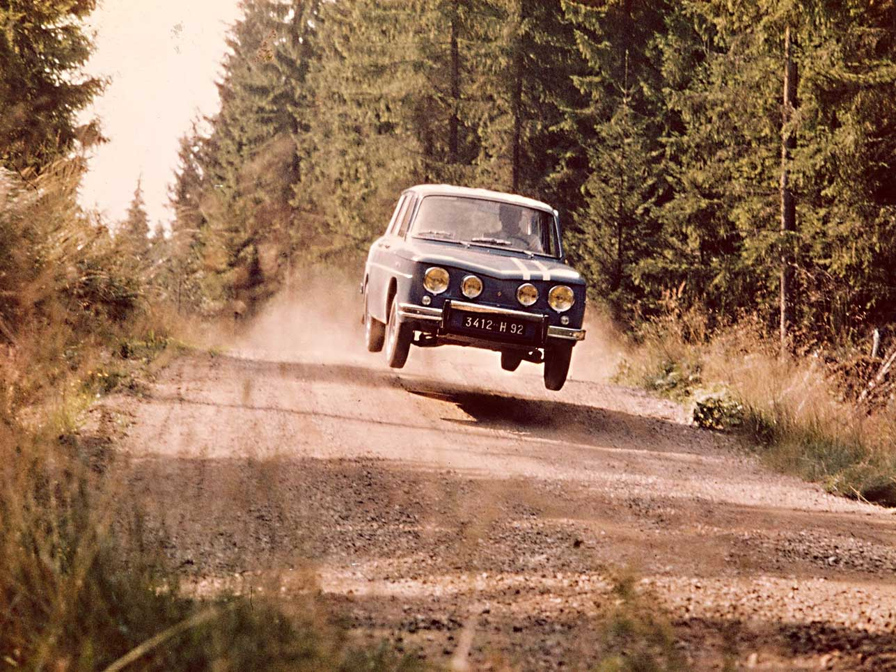 1967: Renault 8 Gordini, Rallye Tausend Seen.