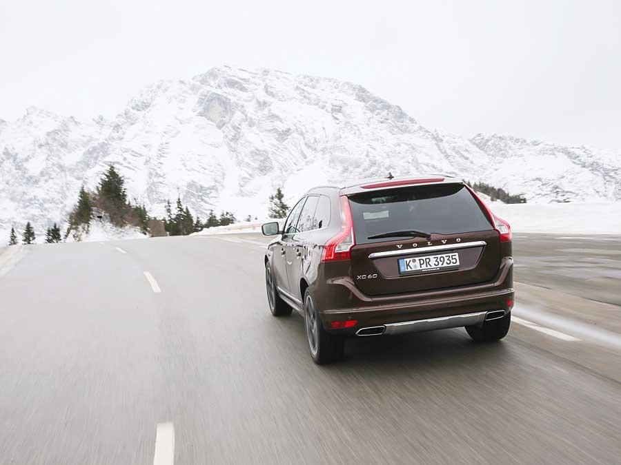 So lange der Schnee nicht auf der Straße liegt, reicht Frontantrieb vollkommen aus.